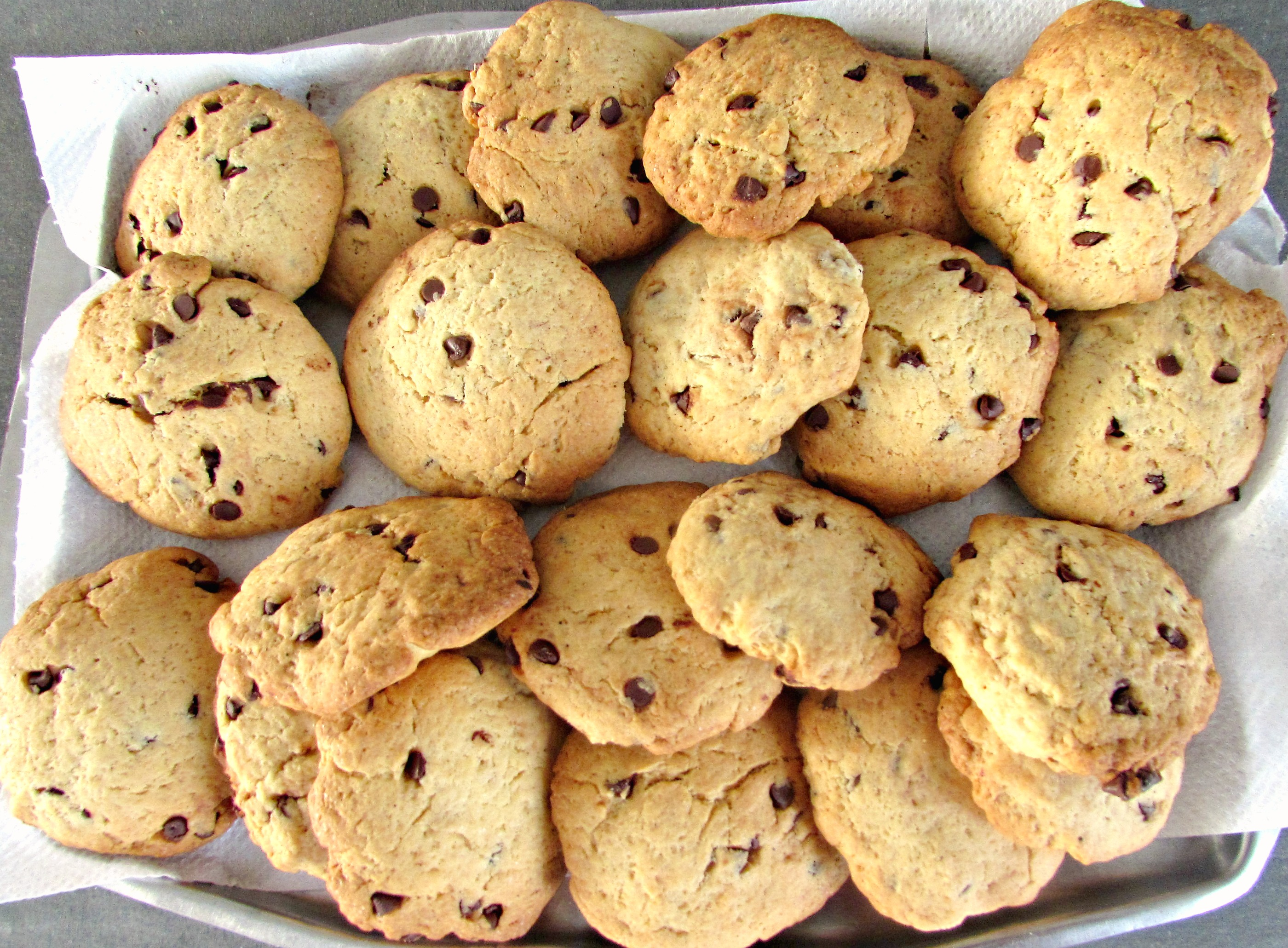 chocolate chips cookies. rev